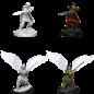 WizKids D&D Unpainted Minis: Female Aasimar Fighter