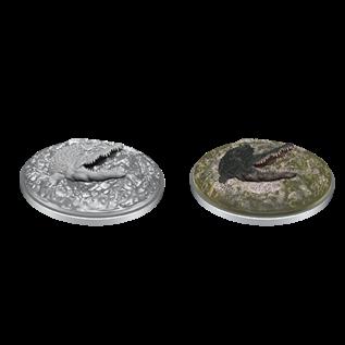 WizKids D&D Unpainted Minis: Crocodile