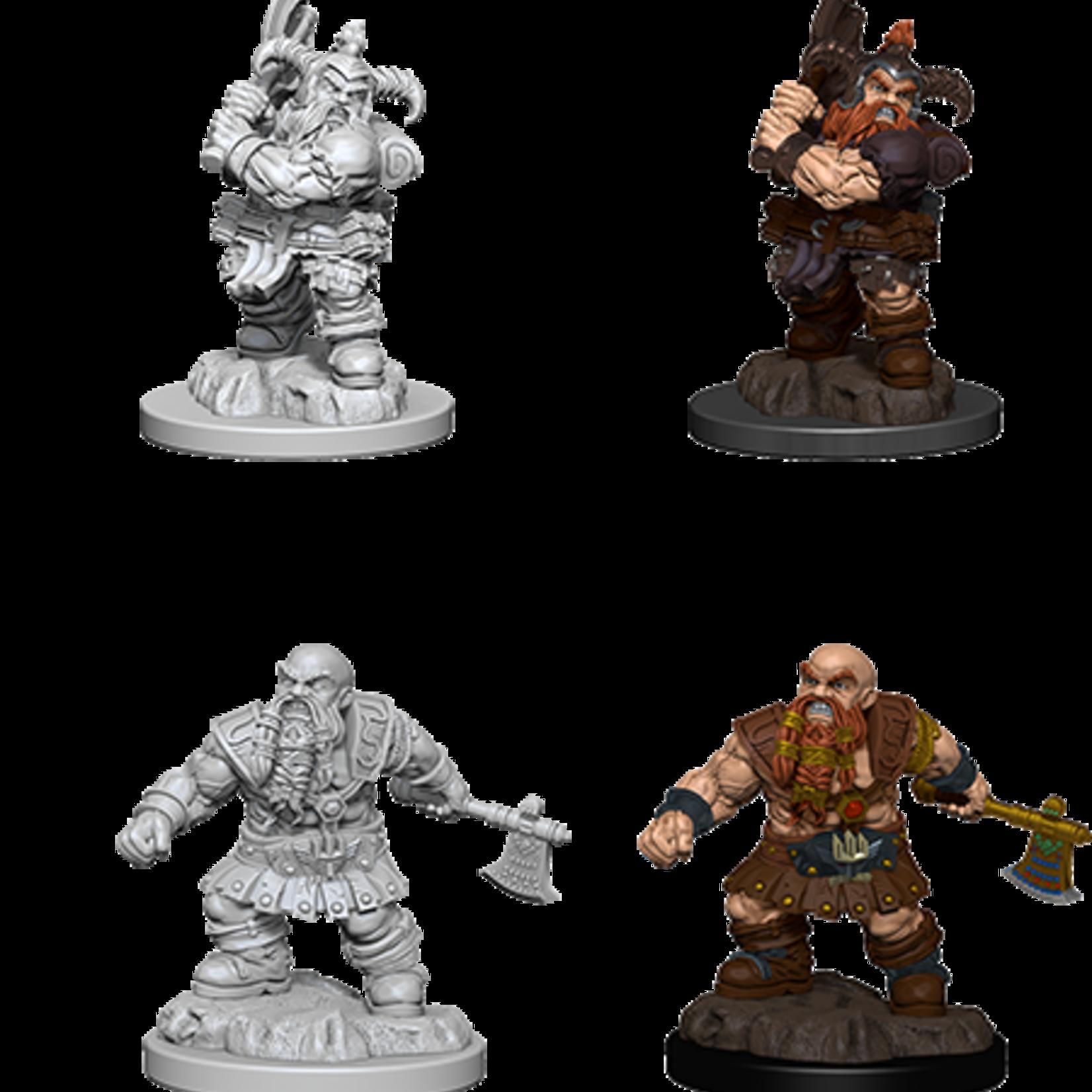 WizKids D&D Minis: Wave 6 - Male Dwarf Barbarian