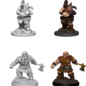 WizKids D&D Unpainted Minis: Male Dwarf Barbarian