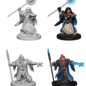 WizKids D&D Unpainted Minis: Male Dwarf Wizard