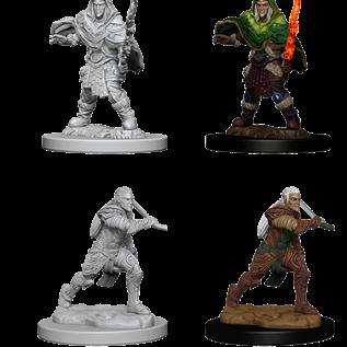WizKids D&D Unpainted Minis: Male Elf Fighter