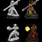 WizKids D&D Unpainted Minis: Female Half-Elf Monk