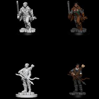 WizKids D&D Unpainted Minis: Male Human Ranger