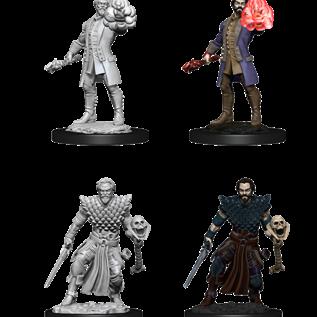 WizKids D&D Unpainted Minis: Male Human Warlock