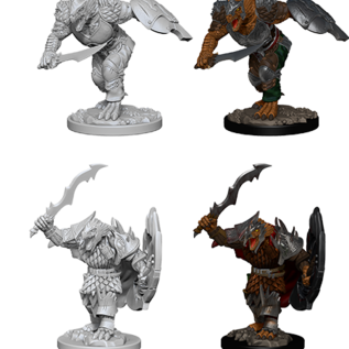 WizKids D&D Minis: Wave 4 - Dragonborn Male Fighter