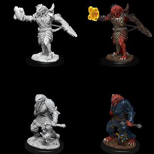 WizKids D&D Unpainted Minis: Male Dragonborn Paladin (Magic, Mace)