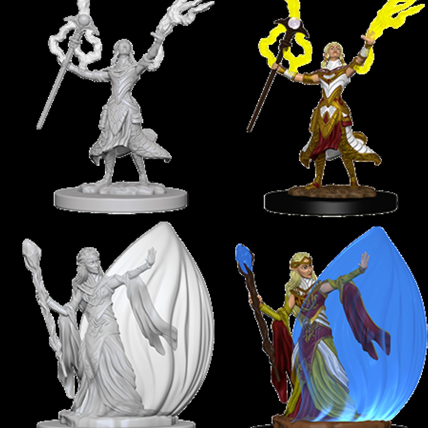 WizKids D&D Minis: Wave 3 - Female Elf Wizard