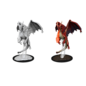 WizKids D&D Unpainted Minis: Young Red Dragon
