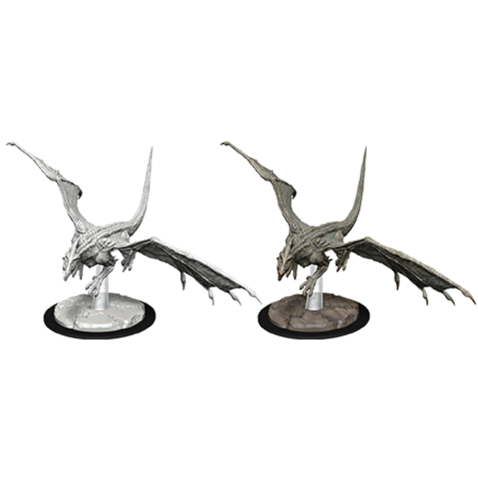 WizKids D&D Minis: Wave 9 - Young White Dragon
