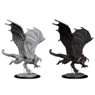 WizKids D&D Minis: Wave 8 - Young Black Dragon