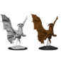 WizKids D&D Unpainted Minis: Young Copper Dragon