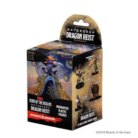 WizKids D&D Prepainted Minis: Waterdeep - Dragon Heist Booster