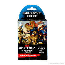 WizKids D&D Prepainted Minis: Mythic Odysseys of Theros Booster