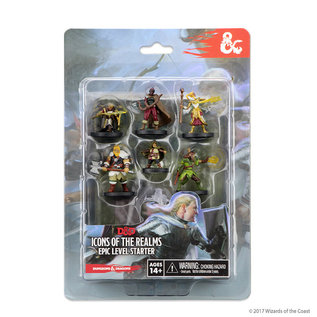 WizKids D&D Prepainted Minis: Icons of the Realms Epic Level Starter