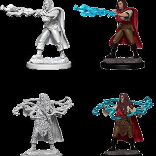 WizKids D&D Unpainted Minis: Male Human Sorcerer