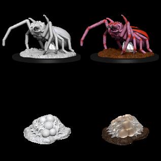 WizKids D&D Unpainted Minis: Giant Spider & Egg Clutch
