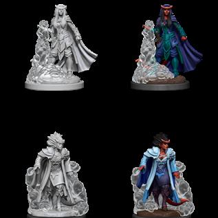 WizKids D&D Unpainted Minis: Female Tiefling Sorcerer