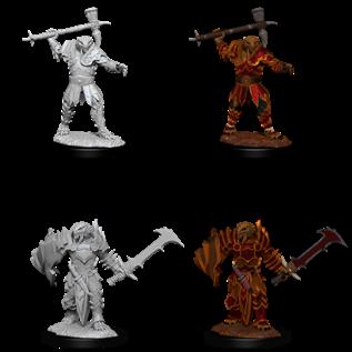 WizKids D&D Unpainted Minis: Male Dragonborn Paladin (Maul, Sword & Shield)