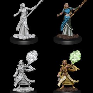WizKids D&D Unpainted Minis: Female Elf Sorcerer