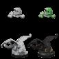 WizKids D&D Minis: Wave 10 - Black Dragon Wyrmling