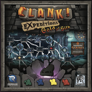 Renegade Game Studios Clank! Expeditions Gold and Silk