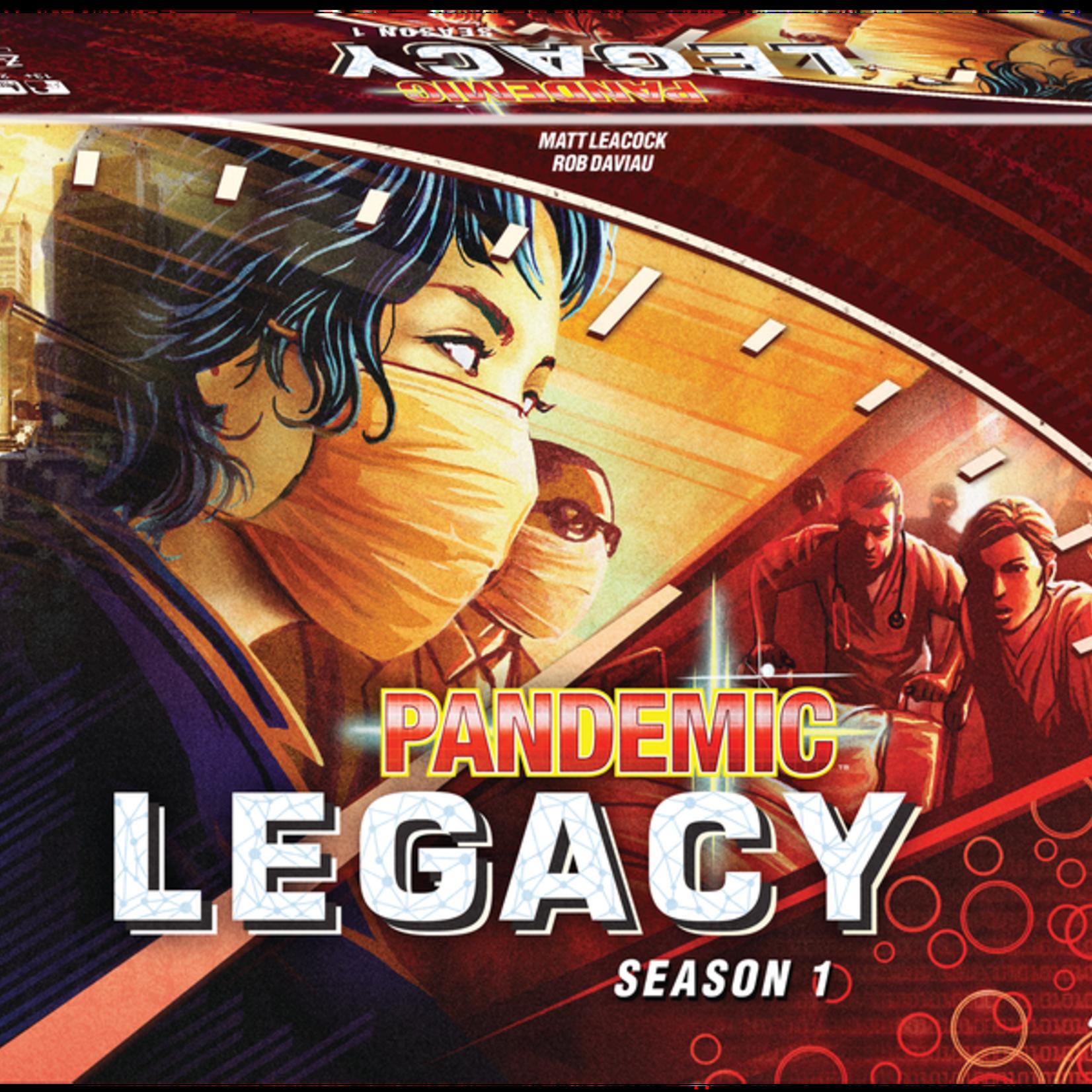 Z-Man Games Pandemic Legacy Season 1