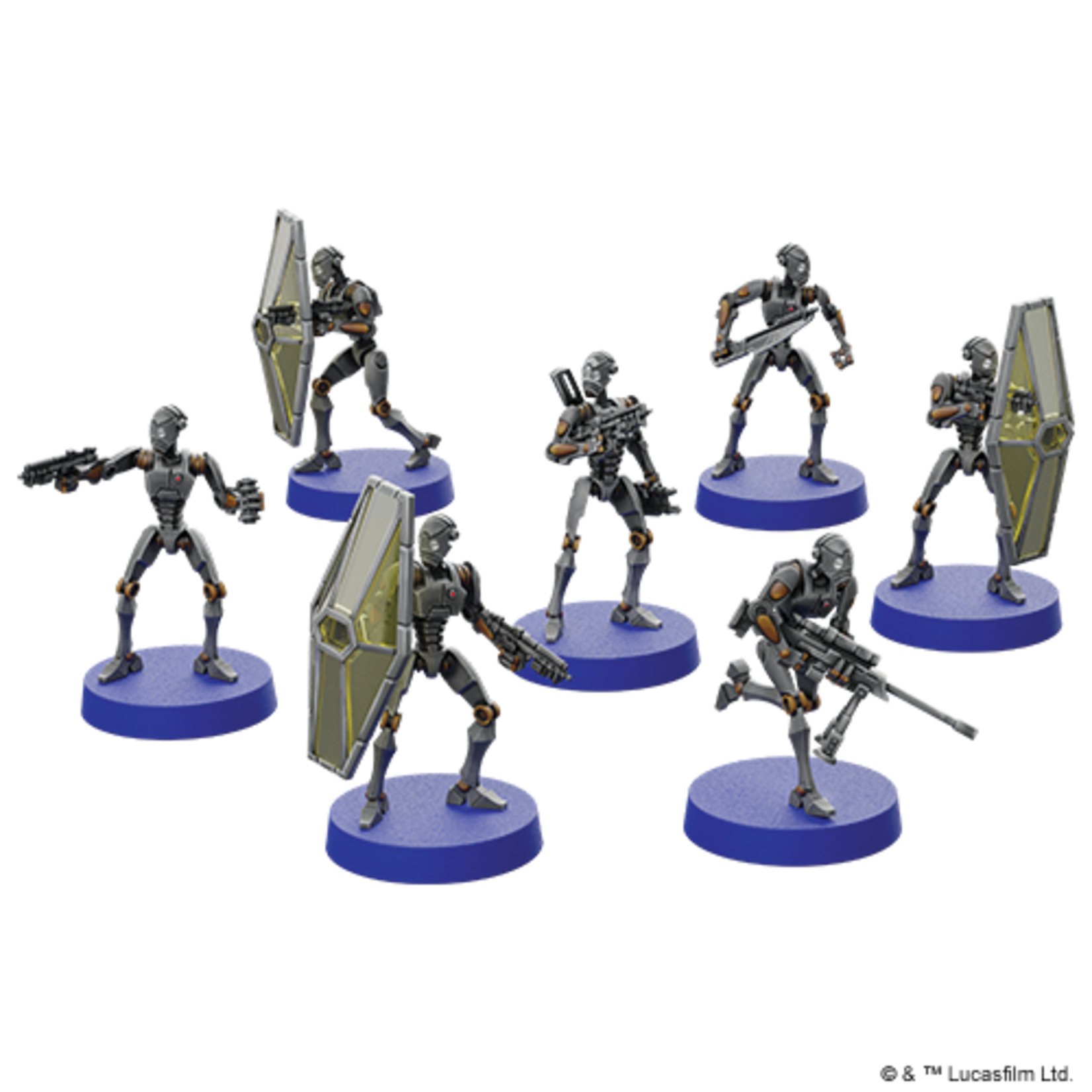 Asmodee BX-series Droid Commandos Unit Expansion