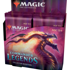 Wizards of the Coast PREORDER - Commander Legends Collector's Booster Box Display (November 20th)