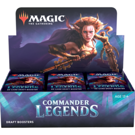 Wizards of the Coast PREORDER - Commander Legends Draft Booster Box Display (November 20th)