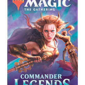 Wizards of the Coast PREORDER - Commander Legends Draft Booster Pack (November 6th)