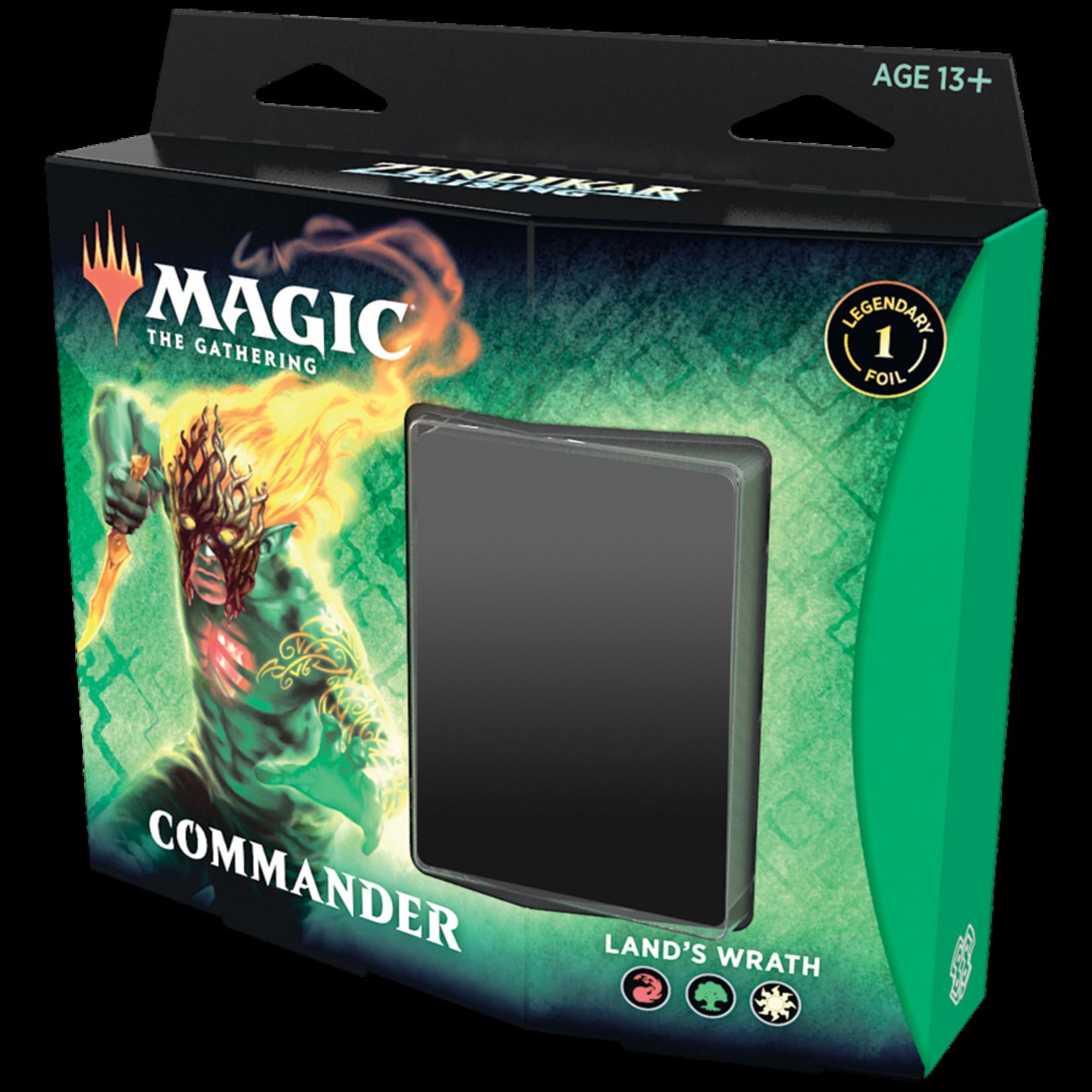 Wizards of the Coast Zendikar Rising Commander Deck