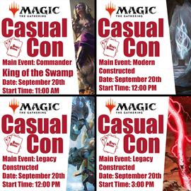 Casual Con Events