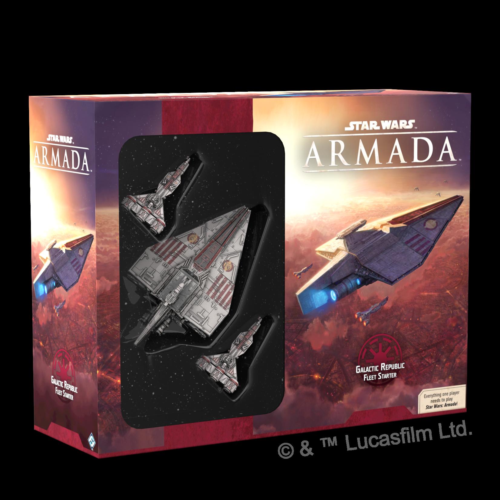 Star Wars Galactic Republic Fleet Starter