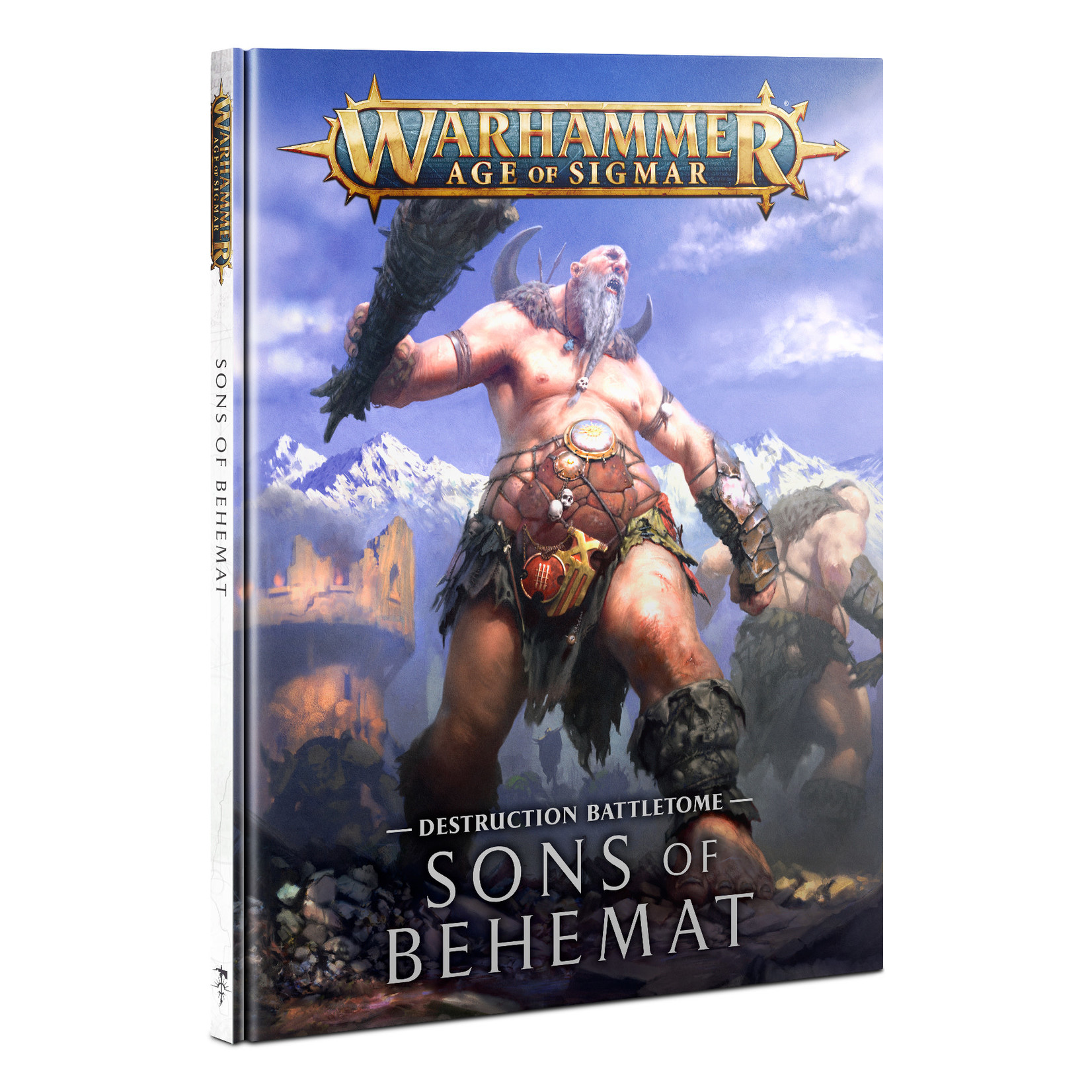 Games Workshop Battletome: Sons of Behemat