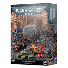 Warhammer Battlzone Manufactorum: Conservators