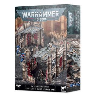 Warhammer Battlezone Manufactorum: Sub-Cloister & Storage Fane