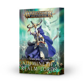 Games Workshop Lumineth Realm-Lords Warscroll Cards