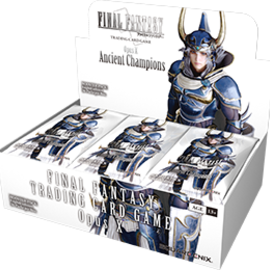 Square Enix Opus X  (10) - Ancient Champions Booster Box Display