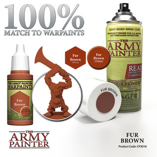 The Army Painter Color Primer Fur Brown