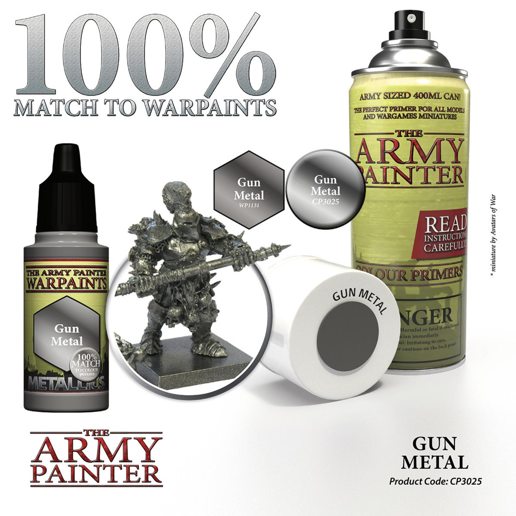 The Army Painter Color Primer Gun Metal