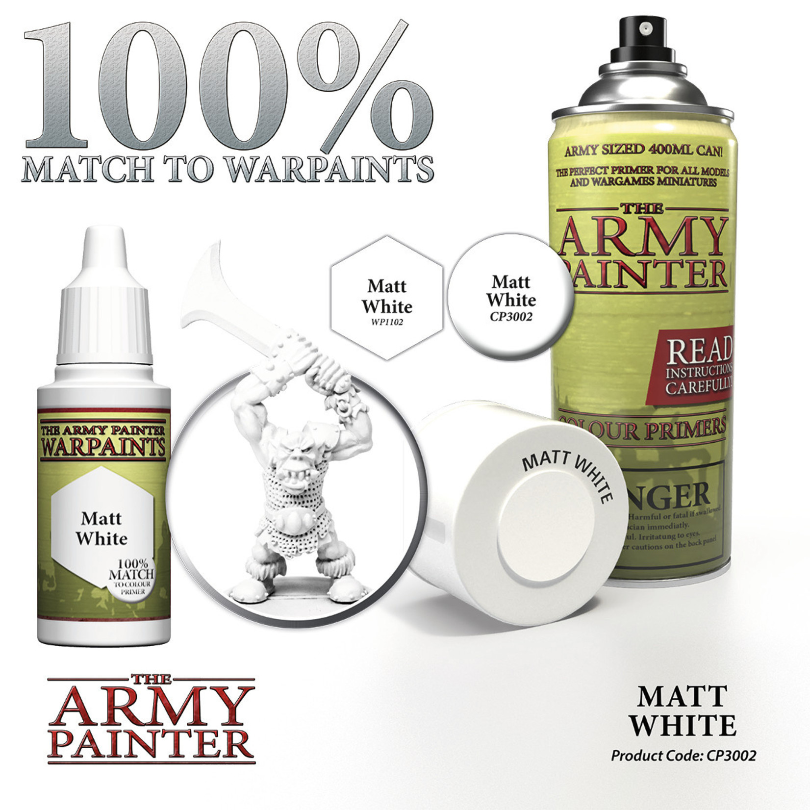The Army Painter Color Primer Matte White