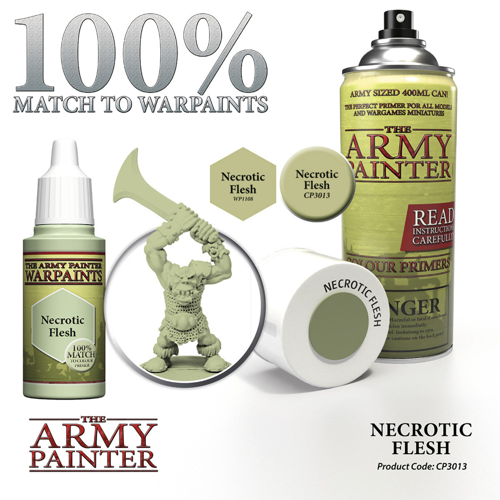 The Army Painter Color Primer Necrotic Flesh