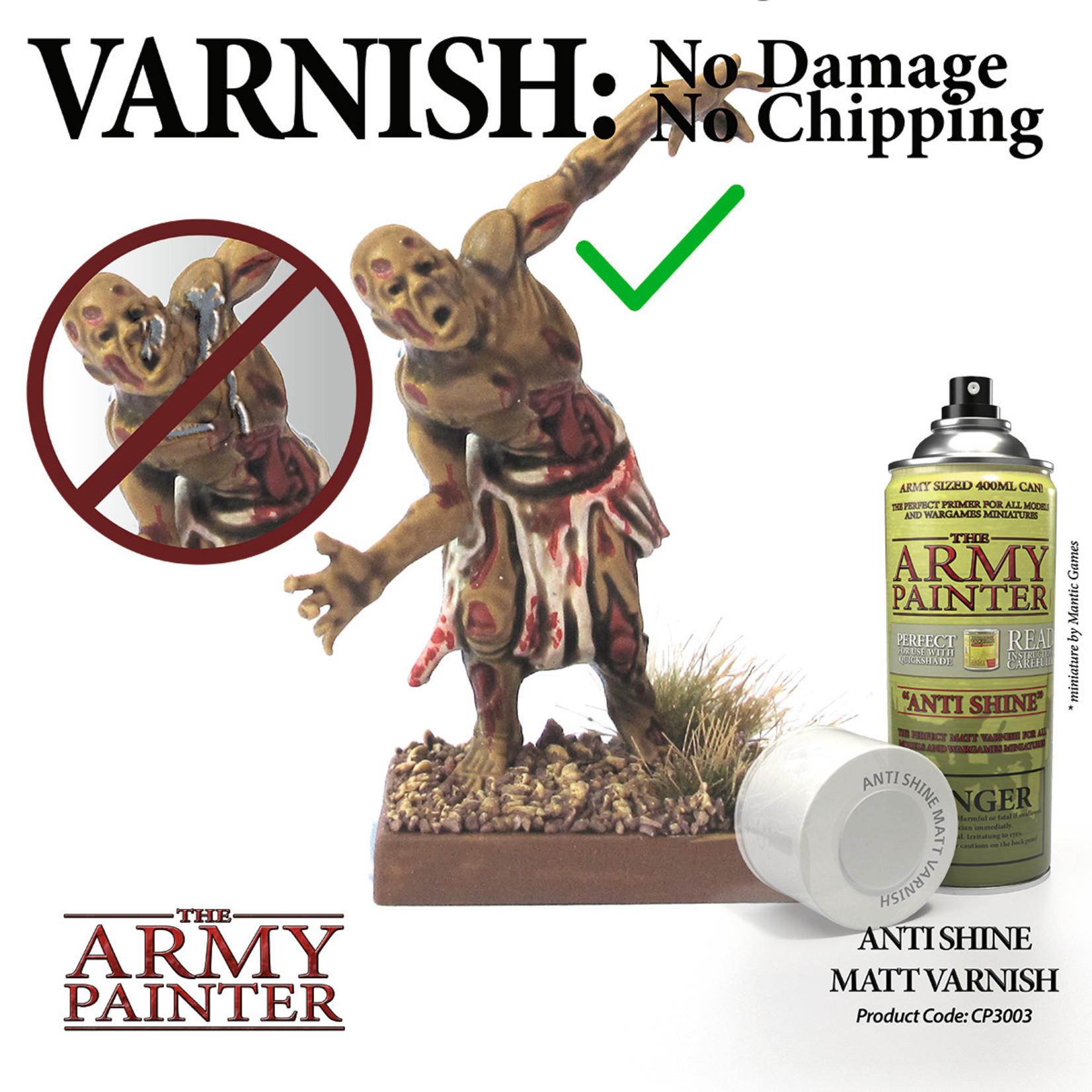 The Army Painter Anti Shine Matte Varnish