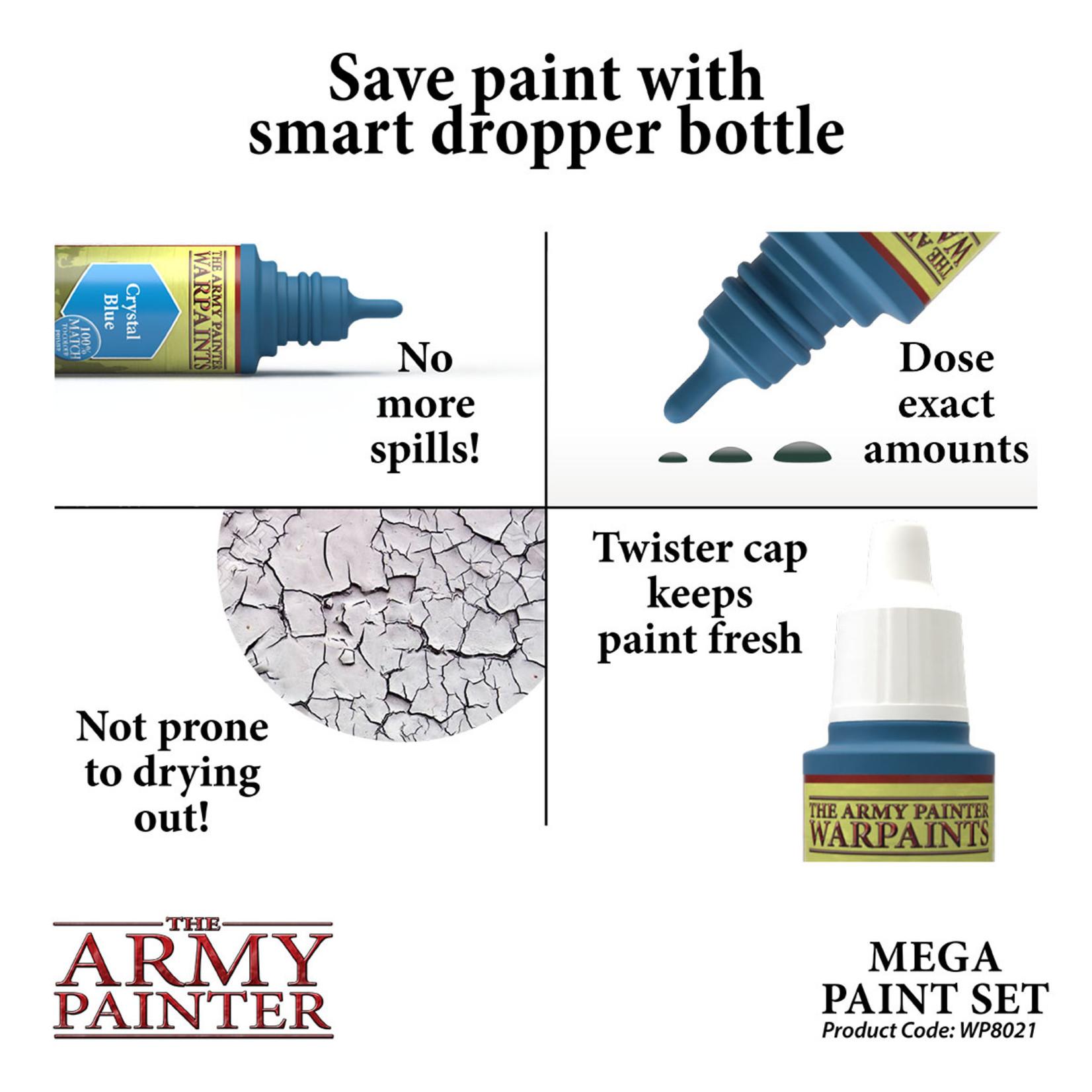 The Army Painter Warpaint: Mega Paint Set