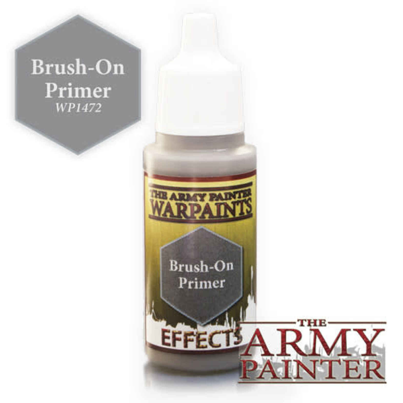 The Army Painter Brush on Primer