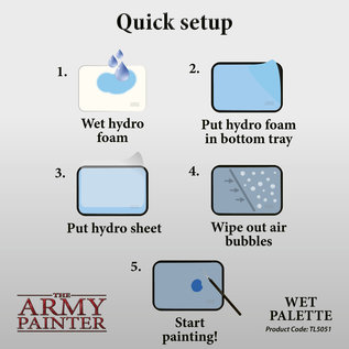 The Army Painter Army Painter Wet Palette