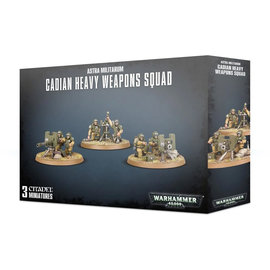 Games Workshop Cadian Heavy Weapons Squad