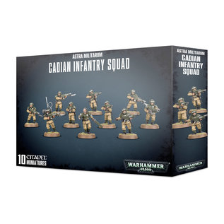 Games Workshop Cadian Infantry Squad