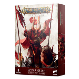 Games Workshop Broken Realms: Gresh's Iron Reapers